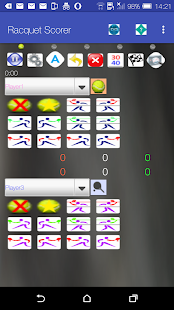Racquet Game Scorer Free- screenshot thumbnail
