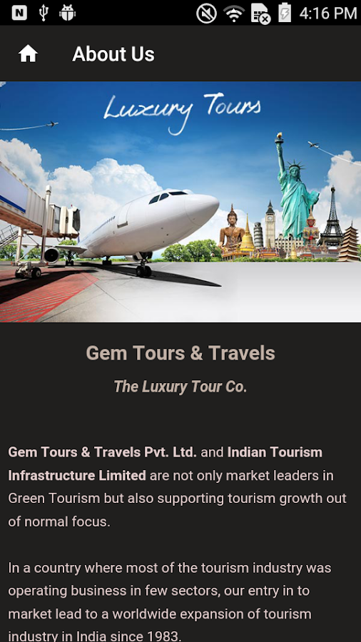 GEM Tours & Travels- screenshot