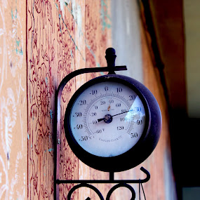 Thermometer by Alexandru Lupulescu - Buildings & Architecture Other Exteriors ( thermometer )