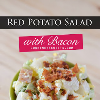 Red Potato Salad with Bacon.