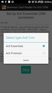 Biz Card Reader Act! CRM- screenshot thumbnail