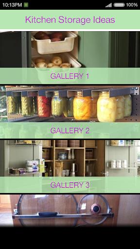 玩免費遊戲APP|下載Kitchen Storage Ideas app不用錢|硬是要APP