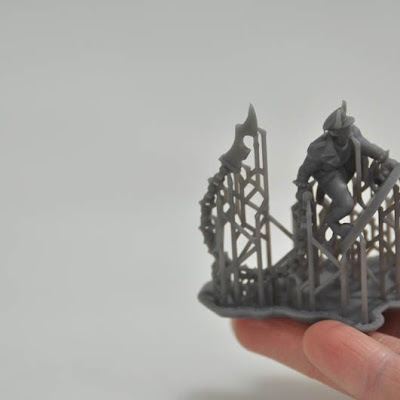 3d printing gallery image of an SLA Resin formlabs part