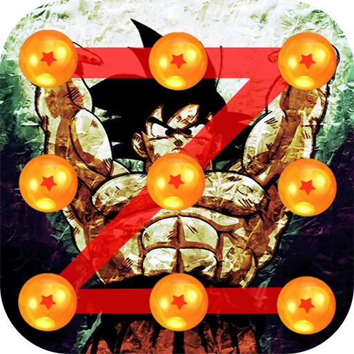 Goku Balls Lock Pattern screen
