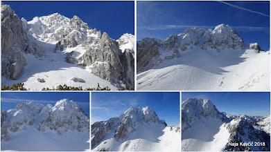 Photo: ... Vrtačo in odlične snežne pogoje v grapah
