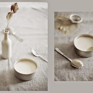 Warm Coconut Nutmeg Pudding.