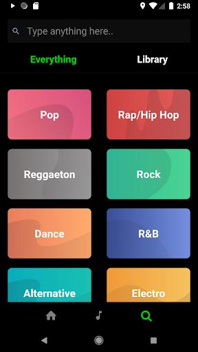 eSound - Free Music Player 3.2.3 screenshots 4