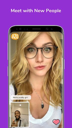 AZU - Meet with New People, Random Video Chat screenshot 1