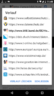 Privacy Browser Screenshot