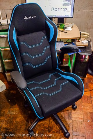 sharkoon elbrus 1 fabric gaming chair