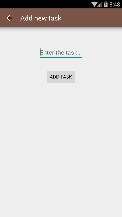 Daily Task Manager- screenshot