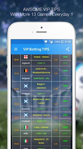 Betting TIPS VIP : DAILY PREDICTION 9.9.1 screenshots 1