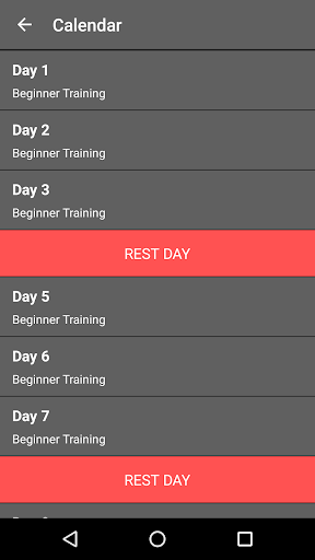 30 Day Legs Workout Challenge  screenshots 9
