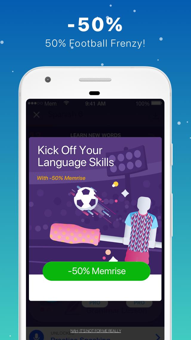 Memrise: Learn New Languages, Grammar & Vocabulary Screenshot