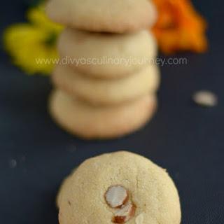 Kesar Nankhatai Recipe   Saffron Cookies (Egg free)   Saffron Infused Indian Shortbread Cookies.