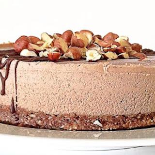 Raw Hazelnut Cake.