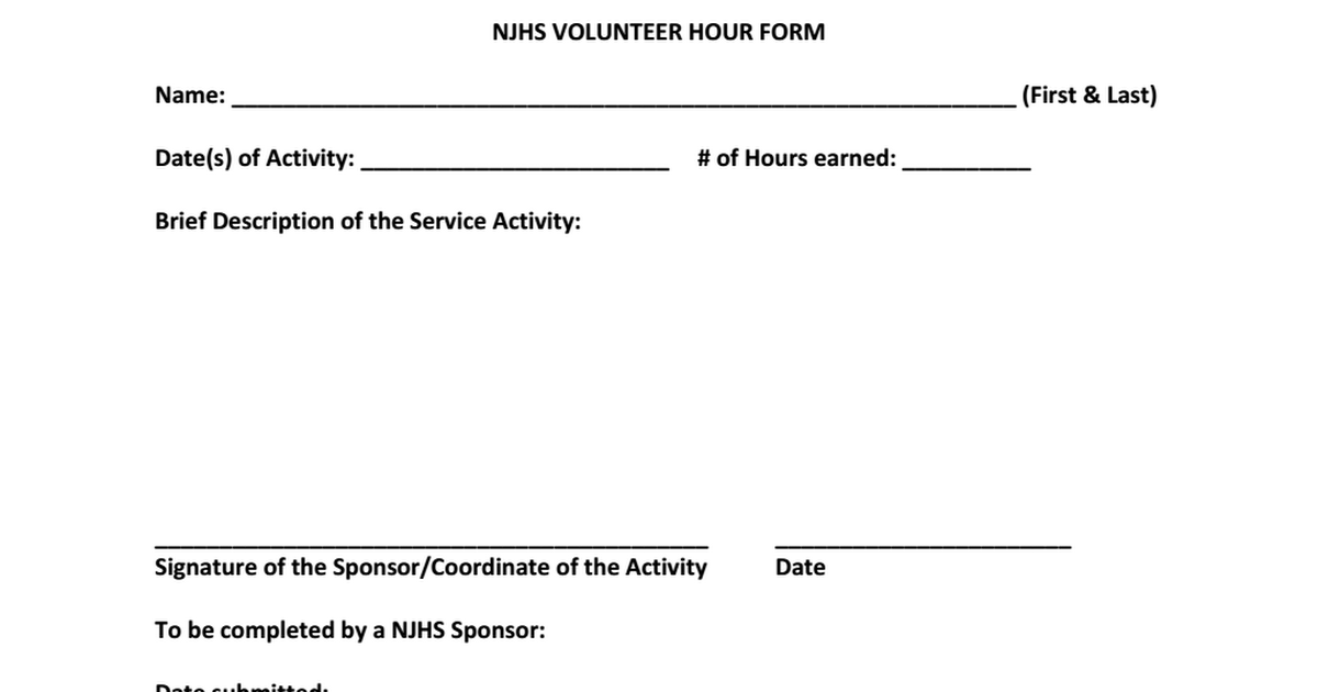 NJHS VOLUNTEER HOUR FORM.pdf - Google Drive