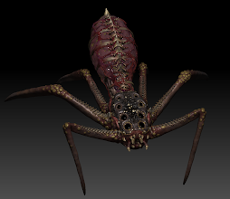 Photo: WIP.. *shrug*  will probably desaturate the body more.. photoshop time!