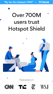 Hotspot Shield Free VPN Proxy & Secure VPN MOD (Elite) 1