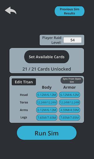 TT2 Raid Optimizer  screenshots 2