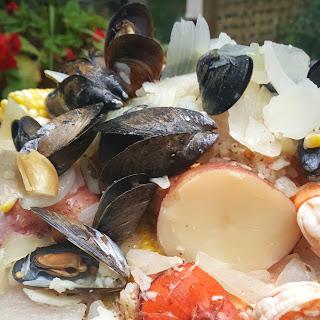 Backyard Seafood Boil.