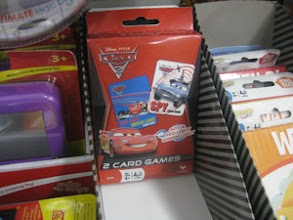 Photo: Score! We found a 2-pack of Cars games for only 97 cents!
