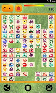 接続する:かわいいモンスターと食べ物。 無料のカラフルなカジュアルゲーム。のおすすめ画像1