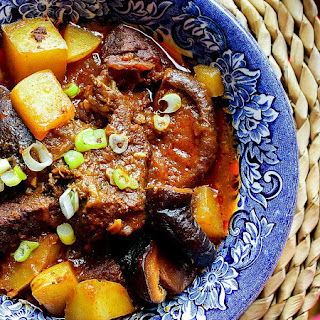 Spicy Gochujang Beef Stew.