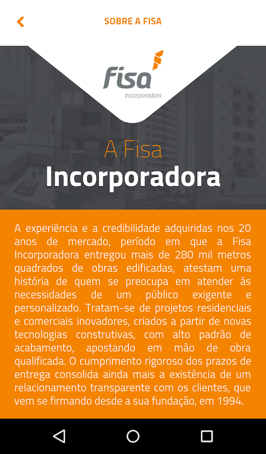 Fisa: captura de tela