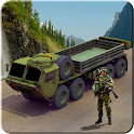Army Cargo Truck Game 4*4