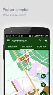 Wolverhampton-Map-offline