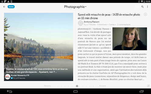 Flipboard Capture d'écran