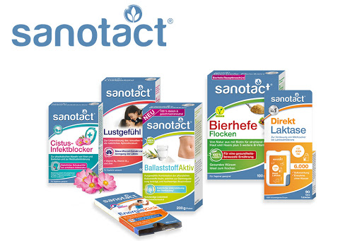Bild für Cashback-Angebot: sanotact Gesamtsortiment - Sanotact