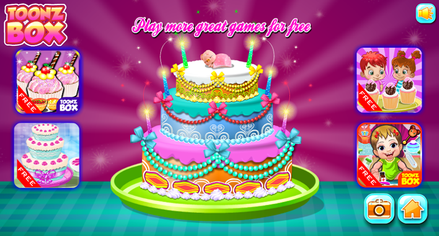 All about cake decoration games for android videos for All decoration games