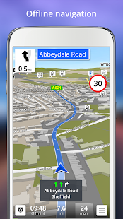GPS Navigation BE-ON-ROAD- screenshot thumbnail