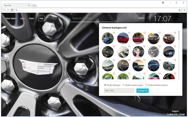 Cadillac Cars Wallpapers HD Luxury Car NewTab