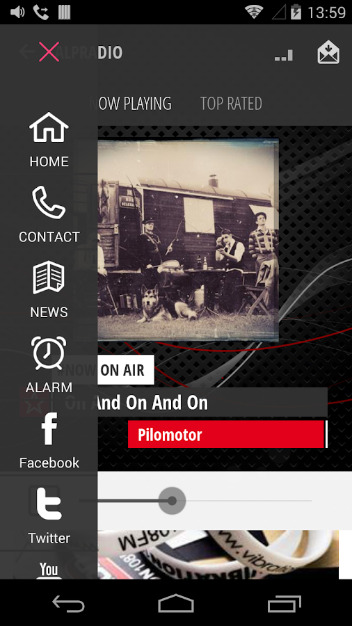 VIBRATION RADIOS- screenshot