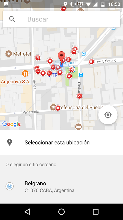 Balcarce Seguro: captura de pantalla