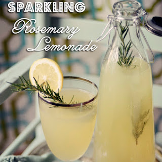Sparkling Rosemary Lemonade