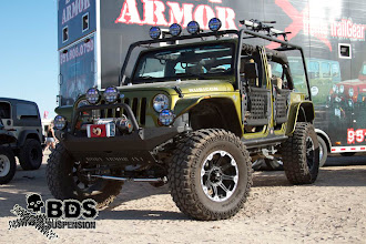 Photo: 4Dr. JK with BDS 6.5'' Long Arm Lift Kit
