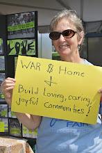 Photo: War $ Home & Build Loving, Caring, Joyful Communities!