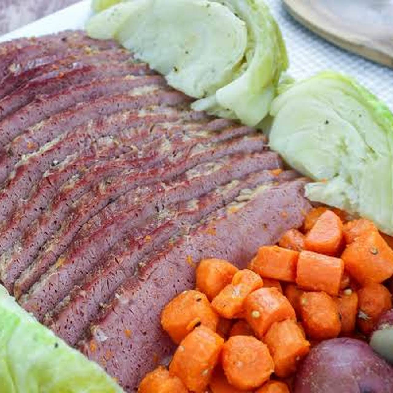 Corned Beef & Cabbage Dinner