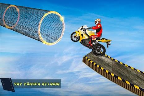 imkansız iz sürücü: motosiklet oyunlar 3 boyutlu Ekran Görüntüsü