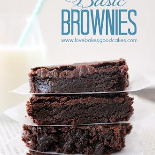 Basic Brownies.