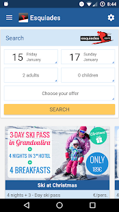 Esquiades.com - Ski Offers- screenshot thumbnail
