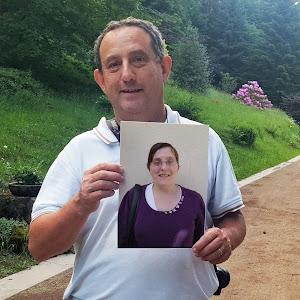 François, parrainé par Véronique pour soutenir le projet de L'Arche à Clermont-Ferrand