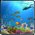 Ocean Fish Live Wallpaper HD icon