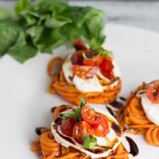 Sweet Potato Caprese Sliders {With A Twist}.