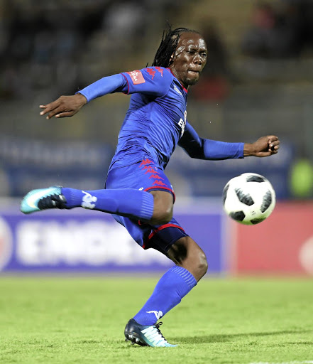 Reneilwe Letsholonyane of Supersport United.