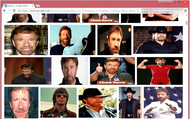 Chuck Norris Picture Replacement chrome extension